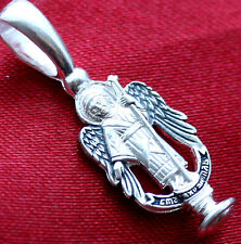ORTHODOX RUSSIAN CROSS PENDAN - GUARDIAN ANGEL !! NEW. ORTHODOX JEWELRY ONLINE
