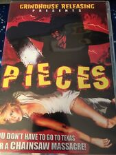 Pieces (DVD, 2008) 2-Disc Set, Deluxe Edition, Grindhouse Releasing, Cult Horror
