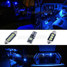 Canbus Fit BMW E39 M5 96-03 Interior Package Kit LED Map Bulb SMD Xenon Blue PW