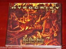 Hypocrisy: Hell Over Sofia - 20 Years Of Chaos And Confusion 2 CD + DVD Set NEW