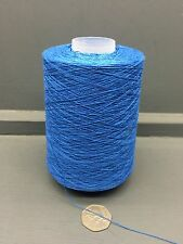 200G 2/30NM 100% SILK YARN BLUE