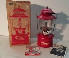 Vintage 1971 Coleman Red 200A Lantern w/ Box & All Paperwork