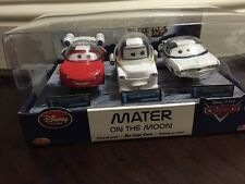 Disney Cars 3-Pack Mater on the Moon Mater, Autonaut McQueen Impala XIII RAREST