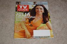 JULIA LOUIS-DREYFUS * THE NEW ADVENTURES OF OLD CHRISTINE 2006 TV GUIDE MAGAZINE