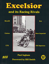 Veteran Vintage Racing Motorcycle Benelli JAP Excelsior New Imperial  Book Dot