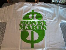 MONEY MAKING MEN'S T-SHIRT WHITE SSUR LUSH LIFE NYC STUSSY MIGHTY HEALTHY MISHKA