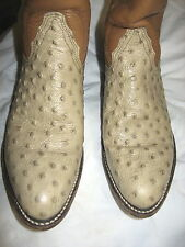L@@K! Awesome 1981? Frye Woman's Faux Ostrich Western Boots  6-1/2B VFine+