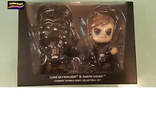 Hot Toys Cosbaby Star Wars Luke Skywalker & Darth Vader Set Instock to Ship