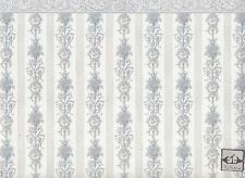 Symphony Stripe 213D2 miniature dollhouse wallpaper 1pc 1/12 scale MiniGraphics