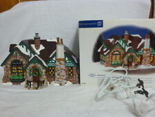 Dept 56 Snow Village Tudor House - 55062