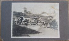Cuba Bakery/Candy Store Delivery Truck/Cart/Car 1915 Photograph w/Horse - 1