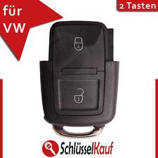 VW 2 Tasten Klappschlüssel Gehäuse für Volkswagen Seat Skoda Auto Schlüssel Neu