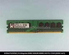 Kingston KVR667D2N5K2/1G DDR2 1GB 2x512MB PC2-5300 Non ECC 667Mhz RAM Memor