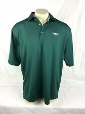 Footjoy Foot Joy Empire Ranch Golf Club Folsom CA Logo Green Polo Shirt Mens XL