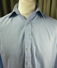 Hackett Prince of Wales Check Double Cuff Shirt 15.5