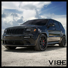 "22"" VELGEN VMB5 BLACK CONCAVE WHEELS RIMS FITS JEEP GRAND CHEROKEE"