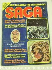 """Saga"" April 1974   Harold Robbins, Annik Borel - High Grade"