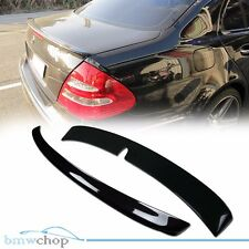 Painted Mercedes Benz W211 Sedna L Type Rear Roof & A Trunk Boot Spoiler ●