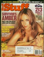 STUFF MAGAZINE AUG 2004 SURVIVORS AMBER OLYMPIC PREVIEW GOLD MEDAL GIRLS