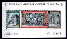 SMOM - BF - 1970 - Natale - 10 grani + 1/2 scudo + 1 tarì - Chiesa di S.Maria de
