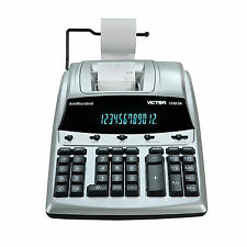 Victor 12 Digit Heavy Duty Commercial Printing Calculator 1240-3A NEW