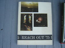 """Vintage 1975 Greystone Christian High School Yearbook """"Reach Out"""" Mobile Alabama"""