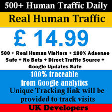 500+ Real Human Visitors Per Day Your Website Traffic 30 Days 100% Adsense Safe