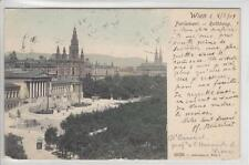 AK Wien I, Parlament, Rathaus, Ringstrasse 1904