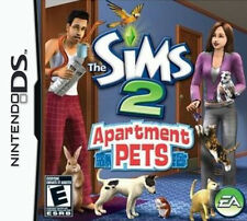 The Sims 2: Apartment Pets (Nintendo DS, 2008) GAME ONLY Sim TESTED - Ships FAST
