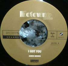 "* * JAMES BROWN RARE LIMITED EDITION ""I GOT YOU (I FEEL GOOD)"" UNPLAYED MINT 45!"