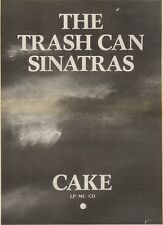 30/6/90Pgn23 Advert: cake The New Album From The Trash Can Sinatras 15x11