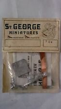 ST. GEORGE MINIATURES 54mm GUERRIERO NORMANNO ANGLOSASSONE 1066