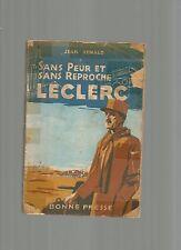 SANS PEUR ET SANS REPROCHE - LECLERC DE JEAN RENALD
