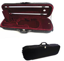 New Enhanced 4/4 Foamed/Oblong Shape  Violin Case+ Free violin String