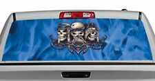 Truck Rear Window Decal Graphic [Hear Speak See Evil] 20x65in DC35907