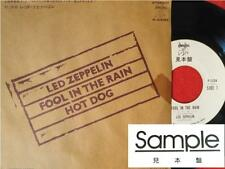 "LED ZEPPELIN FOOL IN THE RAIN JAPAN PROMO 7"" Single PS EP"