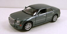 "NewRay Chrysler 300C Hemi 1:32 scale 6"" diecast model car sedan Gray #137"