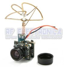 Super Mini Light AIO 5.8G 48CH 25mW VTX 520TVL 1/4 Cmos FPV Camera PAL/NTSC for