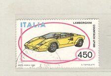 B9220 - ITALIA 1985 - AUTO, LAMBORGHINI   - N. 1709 - MAZZETTA DA 25 - VEDI FOTO