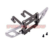 CNC ALUMINUM FRONT BUMPER BULL BAR (GRAY) For 1/10 RC TRUCK AXIAL WRAITH