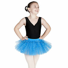 Sparkly Sequin BALLET TUTU Skirt Dance Tutu Girls /Ladies Blue Pink Cerise Black