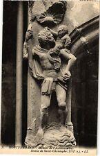 CPA   Montferrand - Maison de l'Annonciation -Statue de Saint-Christophe(244414)