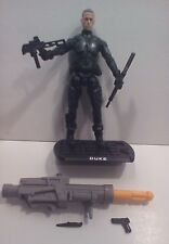 GI Joe ROC Rise Of Cobra DUKE v34 Reactive Impact Armor LOOSE Figure 2009