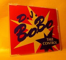 MAXI Single CD D.J. BOBO Take Control 4TR 1993 Eurodance ZYX !
