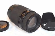 SONY APHA MOUNT QUANTERAY TECH 10 MX AF 4-5.6 75-300  ZOOM CAMERA LENS