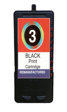 Non-OEM Replaces No 3 For Lexmark X3580 X4580 Black Ink Cartridge