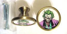 Joker Cabinet Knobs, The Joker Comic Logo Cabinet Knobs, Joker Knobs , Batman