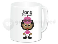 Personalised Gift Female Jockey Mug Horse Rider Present Novelty Fun Christmas #6