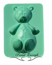 Teddy Bear mould Sugarcraft mold cup cake toppers decorations Chocolate toppers