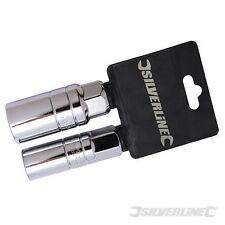 """Spark Plug Deep Socket Set 2pce 3/8"""" Mechanical Tools 244982"""